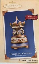 2003 Jewelry Box Carousel NEW Treasures and Dreams Series #2 Music & Movement
