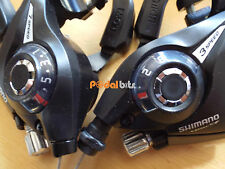 Shimano 8 Speed Ez Fire Rapidfire MTB Gear Brake Lever Shifters ST-EF51 Black