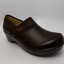 JAMBU SPORT WEDGE BALI DESIGN SHOES-DARK BROWN-8.5 DA 557