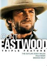 Clint Eastwood Triple Feature: The Outlaw Josey Wales/Pale Rider/Bronco Billy...