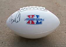 Pittsburgh Steelers BILL COWHER Signed Autographed SB XL Football COA! PROOF!