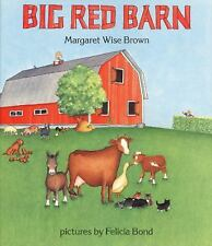 Big Red Barn by Margaret Wise Brown c1989, Hardcover, NEW, Ships Free