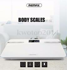 Remax Bluetooth Wireless Smart Body Health Digital Scales Phone Fat Tracking