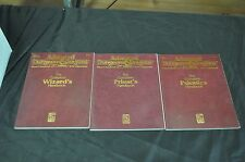 ADVANCED DUNGEONS AND DRAGONS SECOND EDITION HARDCOVER X3 RULES SUPPLEMENT PICS