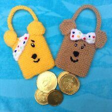 MODELO DE PUNTO - Infantil in Need Bolso y Blush caridad bolsas de regalo