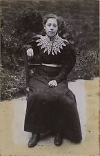 Femmes 4 Photos famille Vie sociale Mode FranceVintage citrate ca 1900