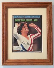 Mary Lou Retton Autographed Aug 13, 1984 Full Sports Illustrated Mag In Frame