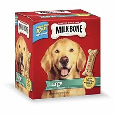 Milk-Bone Original Dog Biscuits - for Large-sized Dogs, 10-Pound , New, Free Shi