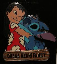Disney 2015 Lilo and Stitch-Ohana Means Family Pin NEW RELEASE ON ORIGINAL CARD