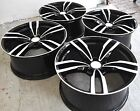 "19"" NEW BMW M3 M4 STYLE BLACK STAGGERED WHEELS RIMS FITS 1 2 3 4 5 SERIES 5468"