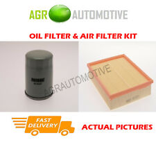 PETROL SERVICE KIT OIL AIR FILTER FOR VAUXHALL FRONTERA 2.2 136 BHP 1995-98