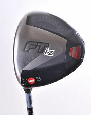 BRAND NEW MENS CALLAWAY FTIZ 3 WOOD STIFF FLEX GRAPHITE SHAFT LEFT HAND