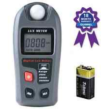 Light Meter, Quirrel Digital Light / Lux Flash Meter, Photometer Measure Tester