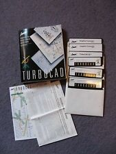 "vintage computer software Turbocad 5"" floppy disc mint condition"