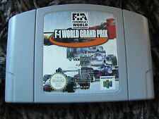 JEU NINTENDO 64 @@ N64 @@ F1 WORLD GRAND PRIX