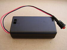 Dummy alarm RED Flashing LED Light with AA battery box