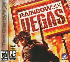 Rainbow Six VEGAS - Tom Clancy Tactical Shooter PC Game - US Version - BRAND NEW