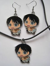 Attack on Titan Anime / Manga Necklace & Earring Jewelry Set (WINNER'S CHOICE!)