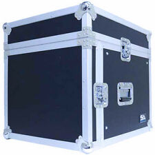 8 Space Rack Case with Slant Mixer Top - Amp Effect PA/DJ Pro Audio Road Ca