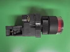 1 Stück Ersatzteil Drucktaster rot 12 Volt  mit LED nicht rastend  ETYC3-02 LED