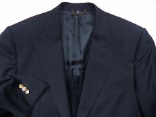DOLCE & GABBANA D&G MENS 52 42 BLACK BLAZER COAT JACKET GOLD LUXE MADE IN ITALY