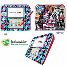 Monster High Vinyle Peau Sticker Pour Nintendo 2DS