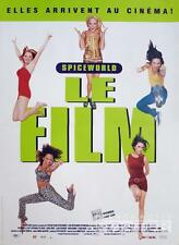SPICE WORLD - THE SPICE GIRLS MOVIE - ORIGINAL SMALL FRENCH MOVIE POSTER
