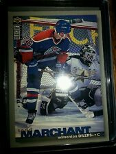 1995-96 Upper Deck Collectors Choice Players Club #210 Oilers C Todd Marchant