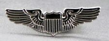 Metal Enamel Pin Badge Brooch Wings Pilot Fly Flight Aviation Got Wings Crew