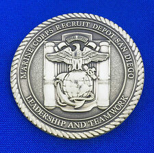 US Marine Corps Recruit Depot San Diego Boot Camp Semper Fi USMC Challenge Coin