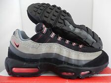 NIKE AIR MAX 95 PREMIUM BLACK-MEDIUM ASH-GREY SZ 11 SAFARI! [538416-006]