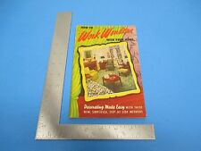 Vintage 1951 How To Work Wonders With Your Home Decorating Made Easy S2090