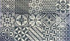 Patchwork effect London Herritage Wall Floor Tiles 165x165 mm
