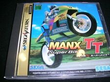 (Used) Sega Saturn Manx TT Super Bike [Japan Import]