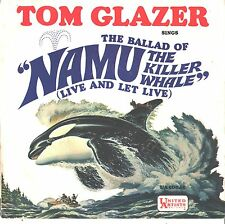 TOM GLAZER--PICTURE SLEEVE ONLY--(NAMU-KILLER WHALE)--PS--PIC--SLV