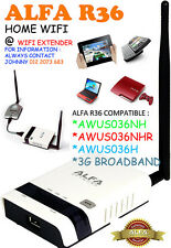 Alfa R36 WiFi Wireless N Router/Repeater for AWUS036H, AWUS036NHR, 3G Modem