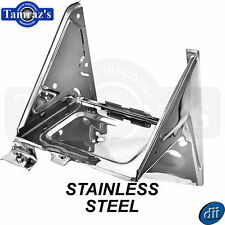 67-72 Chevy C/K Pickup with A/C Battery Tray Housing Assembly  - STAINLESS STEEL