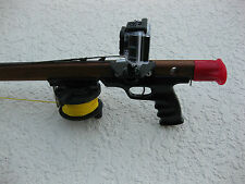 GoPro Custom Mount HERO ALL Camcorder On Most Riffe Spearguns, No Drilling!!!