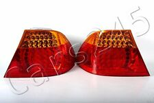 Outer Wing LED Tail Lights Left+Right PAIR BMW 3 Coupe E46 2003-2006 LCI OEM