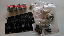 Nixie Tube clock KIT with IN-12 LED Alarm Tubes NOT Included