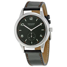 Nomos Club Automat Datum Dunkel Black Dial Mens Watch 774