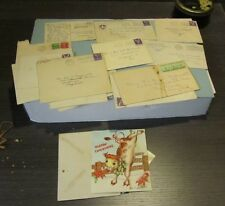 WWII Mixed Correspondence Lot Kessler Field Mississippi Camp Lee Virginia Xmas