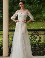 GORGEOUS PLUS SZ 22w  WEDDING DRESS