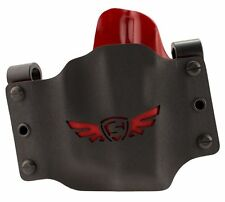SCCY SC1005L CPX Holster CPX-1/CPX-2 w/Laser Kydex Black w/Red Wing Logo