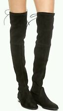 Stuart Weitzman Lowland Over the Knee Boots 10 Suede Leather 41 Thigh High