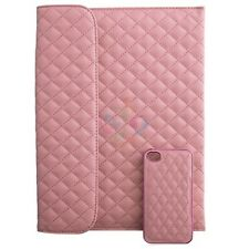 Naztech Paris iPad Pouch and iPhone 4S Cover Combo Pink