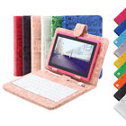 "iRULU 7"" New Android 4.4 Quad Core Tablet PC WIFI w/ Cartoon Keyboard"