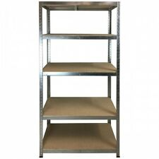 Boltless Shelving 300Kg 1780X900X450 (Galvanise) For Garages / Sheds, Warehouses