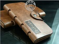 Pure Genuine Leather BALINI Brand MENS short Bifolded Wallet Purse Card Holder