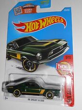 HOT WHEELS '68 SHELBY GT5000 THEN AND NOW 105/250 SHIPS FREE!
